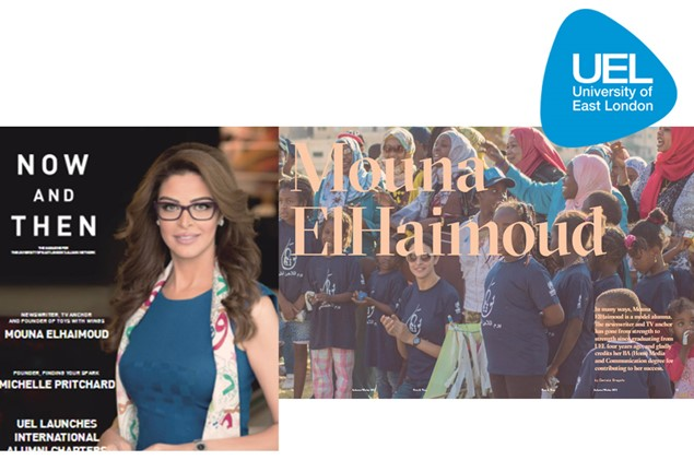 University of East London Alumna Magazine Features Founder Mouna ElHaimoud in