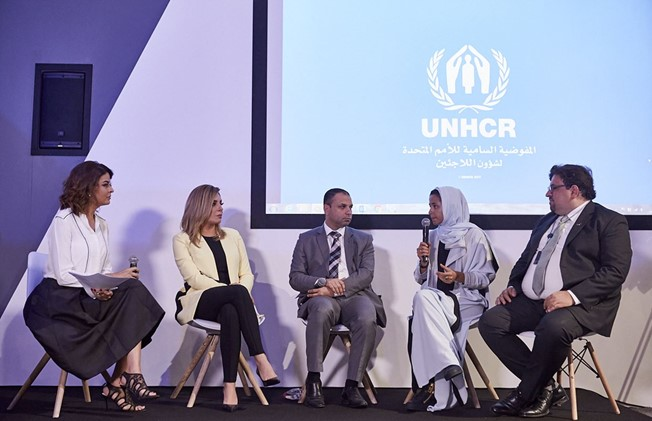 Founder Mouna ElHaimoud Participates at 'Sharjah Government Communication Forum' to Talk About the Role of New Media in Serving Humanitarian Causes